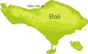 Villa Lilly location